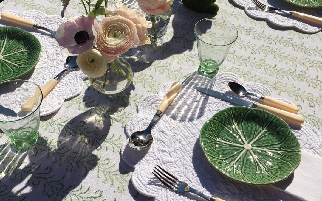 Styling Your Spring Table